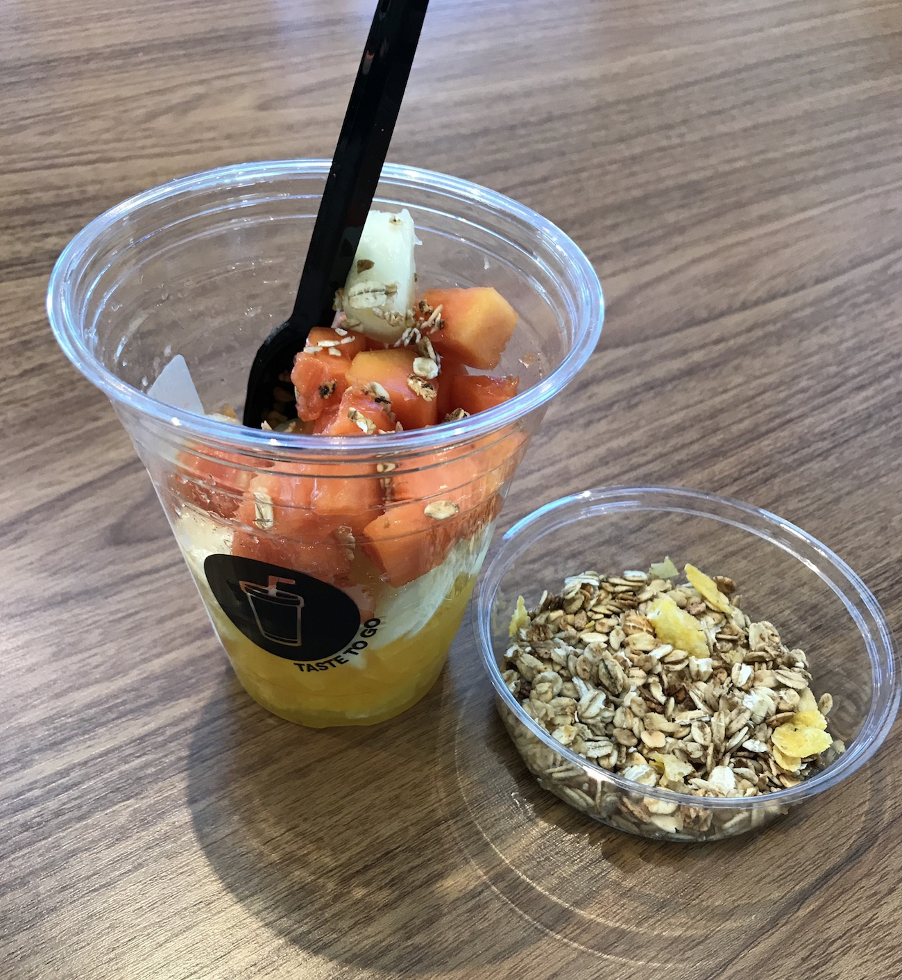 salada de fruta produtiva