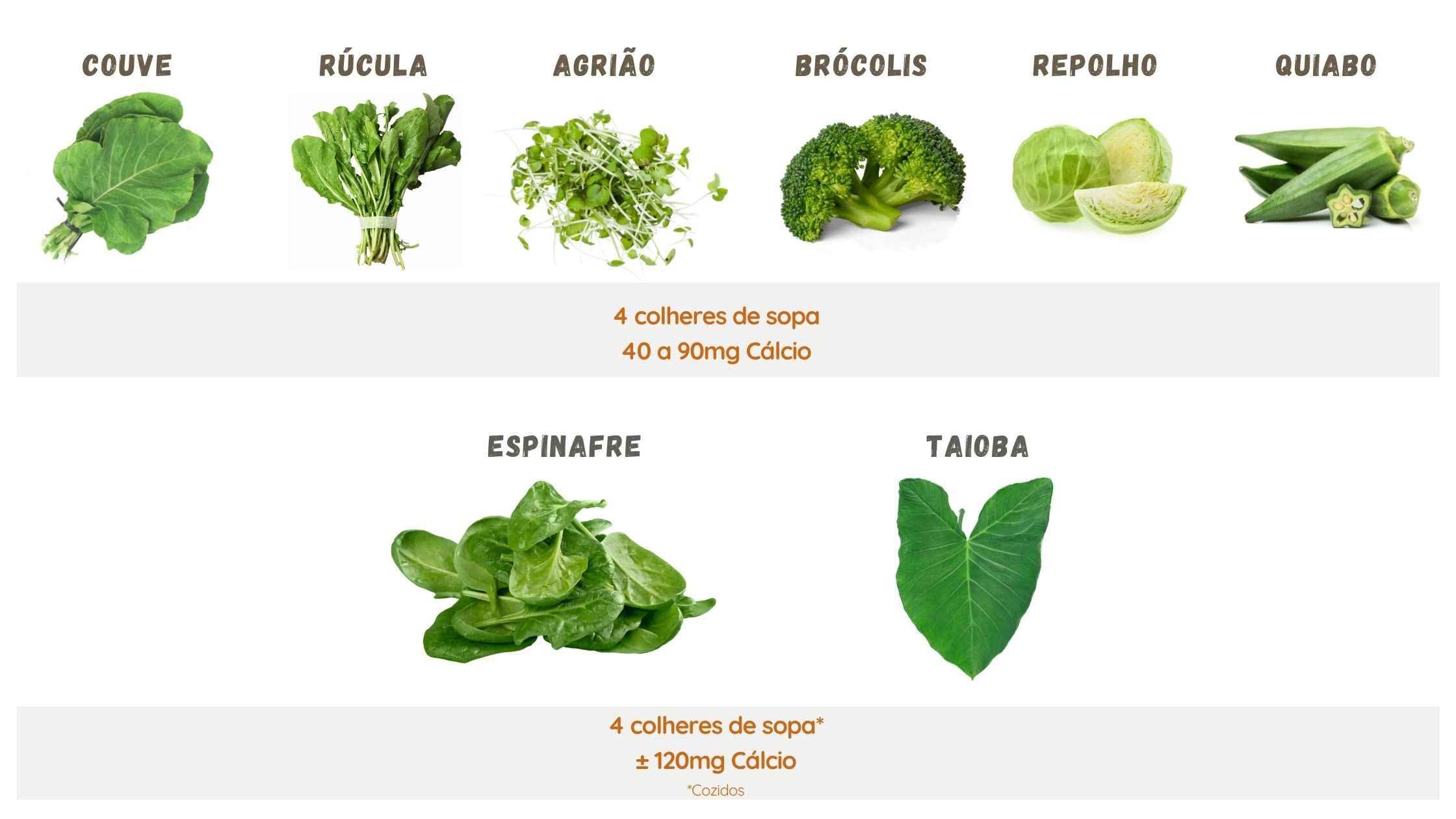 alimentos Vegetais Verdes